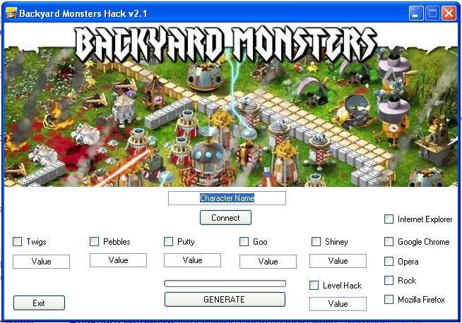 Backyard Monster Hack backyard monsters trainer – hacks|cracks|key generators